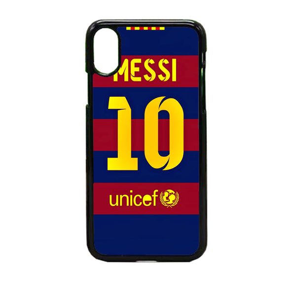 Fc Barcelone iPhone X Case | Frostedcase
