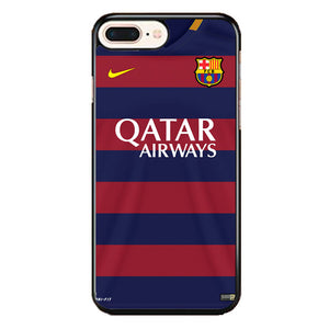 Fcb Jersey iPhone 8 Plus Case | Frostedcase