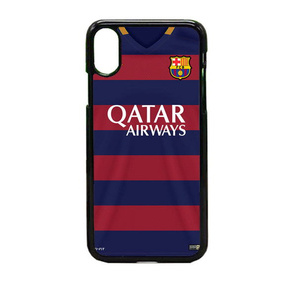 Fcb Jersey iPhone X Case | Frostedcase