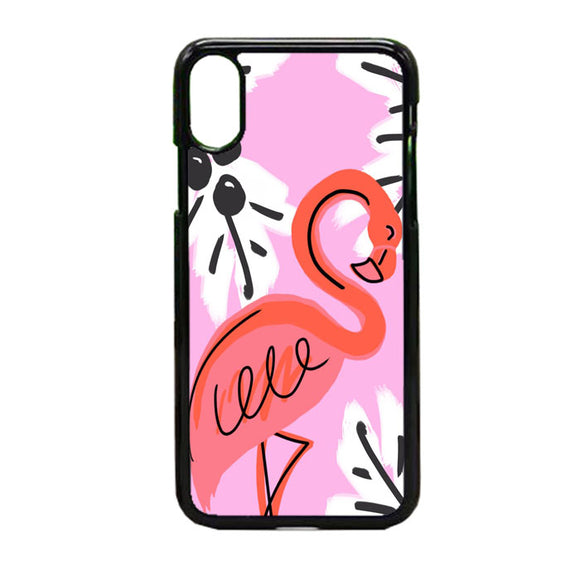 Flamaningo Pink iPhone X Case | Frostedcase
