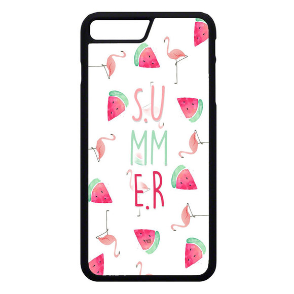 Flamaningo Summer iPhone 7 Plus Case | Frostedcase