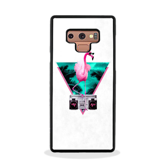 Flamingo Miami Vice Samsung Galaxy Note 9 Case | Frostedcase