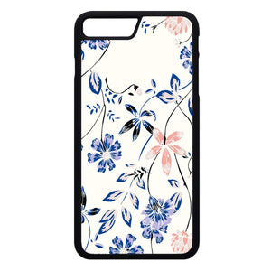 Flower Blue iPhone 7 Plus Case | Frostedcase