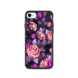 Flower Purple iPhone 8 Case | Frostedcase