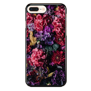 Flower Purple Pink iPhone 8 Plus Case | Frostedcase
