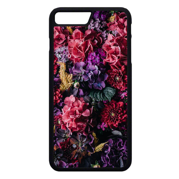 Flower Purple Pink iPhone 7 Plus Case | Frostedcase