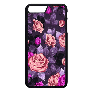 Flower Purple iPhone 7 Plus Case | Frostedcase