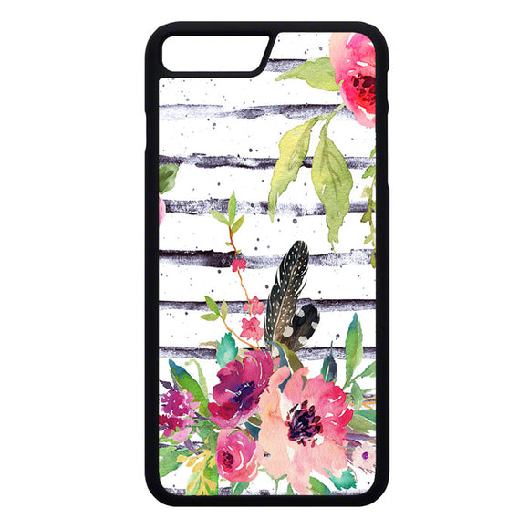 Flower Water Color iPhone 7 Plus Case | Frostedcase