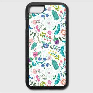 Flower White iPhone 7 Case | Frostedcase