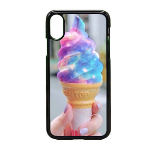 Galaxy Ice Cream iPhone X Case | Frostedcase