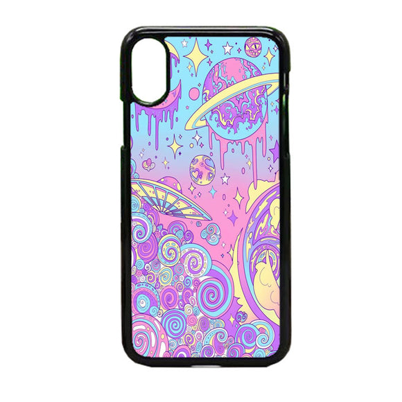Galaxy Smoot iPhone X Case | Frostedcase