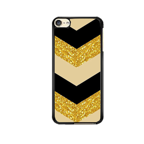 Glitter Gold iPod 6 Case | Frostedcase