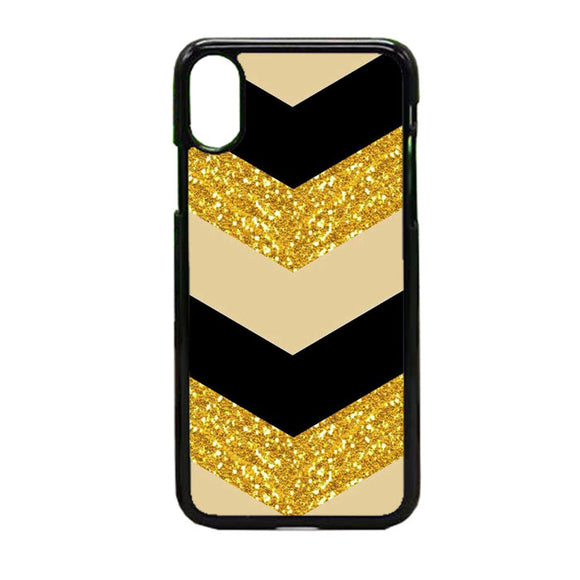 Glitter Gold iPhone X Case | Frostedcase