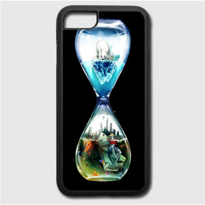 Global Warming Hourglass iPhone 7 Case | Frostedcase