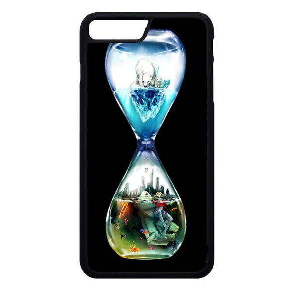 Global Warming Hourglass iPhone 7 Plus Case | Frostedcase