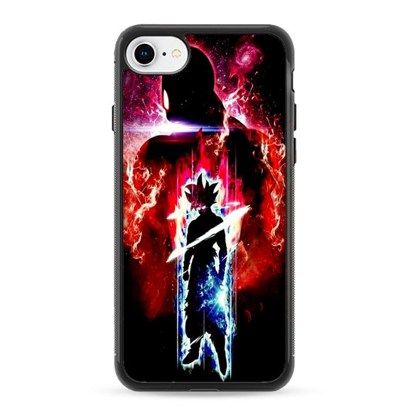 Goku Blue Red Flash iPhone 8 Case | Frostedcase