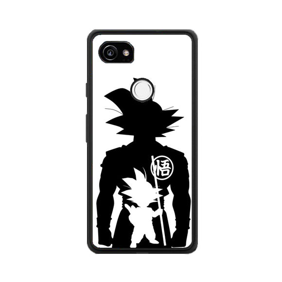Goku Passion For Fighting Google Pixel 2 XL Case | Frostedcase