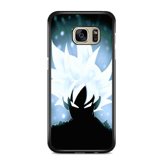 Goku Ultra Instinct Mastered Samsung Galaxy S7 EDGE Case | Frostedcase