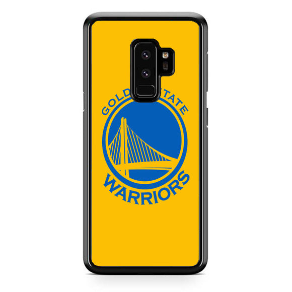 Golden State Warriors Yellow Samsung Galaxy S9 Plus Case | Frostedcase
