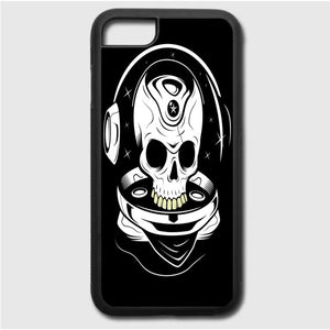 Goonies Skull Calligram iPhone 7 Case | Frostedcase