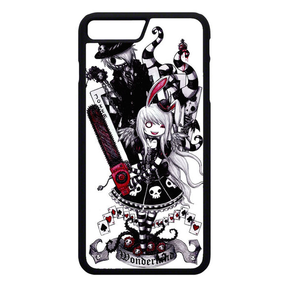 Gothic Alice In Wonderland Tattoo iPhone 7 Plus Case | Frostedcase