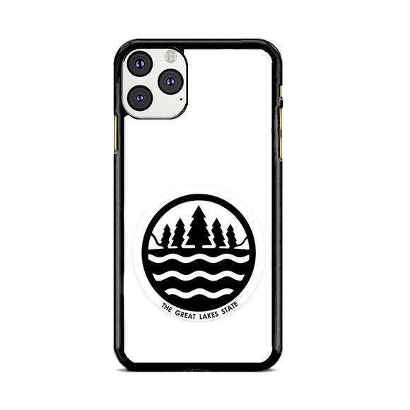 Great Lakes State Symbol iPhone 11 Pro Max Case | Frostedcase