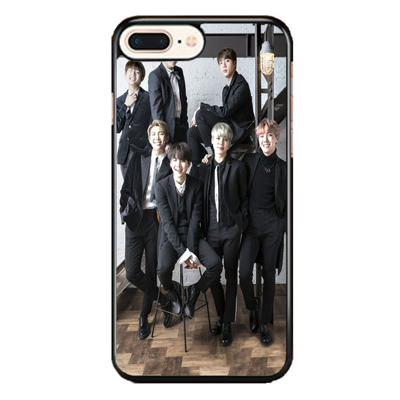 Group Bts Dress Neatly iPhone 8 Plus Case | Frostedcase
