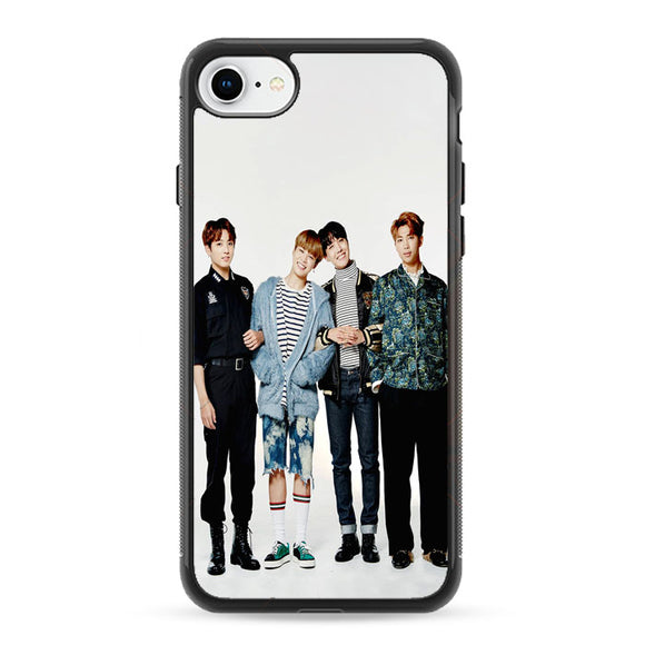 Group Bts Photoshoot Festa 2017 iPhone 8 Case | Frostedcase