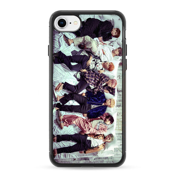 Group Bts Photoshot iPhone 8 Case | Frostedcase