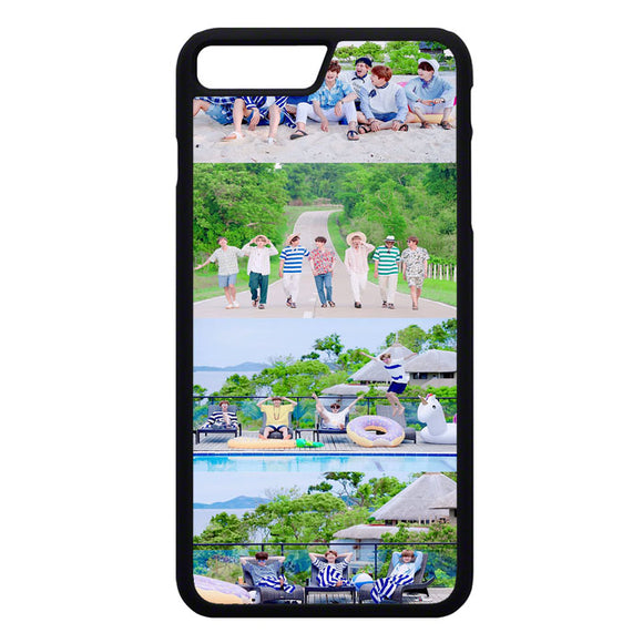 Group Bts Tour iPhone 7 Plus Case | Frostedcase