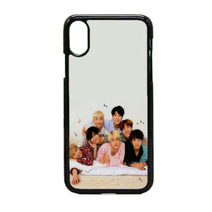 Group Bts iPhone X Case | Frostedcase