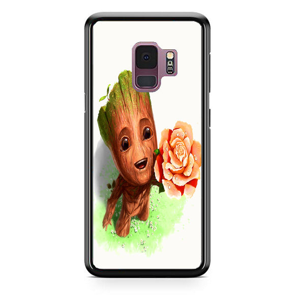Guardians Of The Galaxy Groot Art Samsung Galaxy S9 Case | Frostedcase