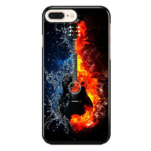 Guitar On Fire iPhone 8 Plus Case | Frostedcase