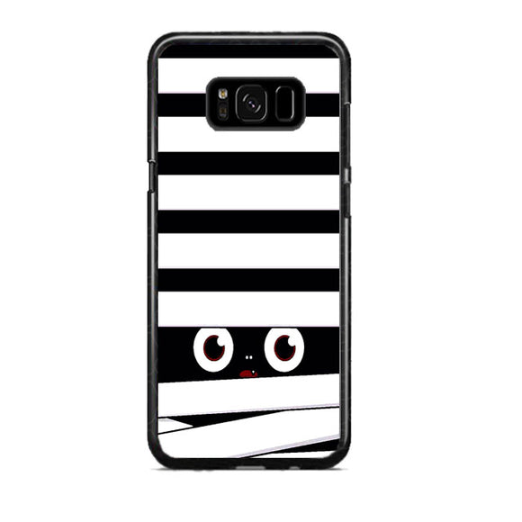 Halloween Black White Eyes Samsung Galaxy S8 Plus Case | Frostedcase