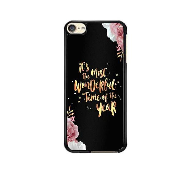 Happy New Year Rose Gold iPod 6 Case | Frostedcase