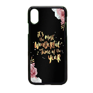 Happy New Year Rose Gold Iphone Xs Max Case Frostedcase