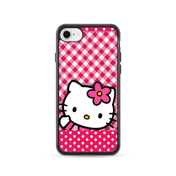 Hello Kitty Polkadot Red iPhone 8 Case | Frostedcase