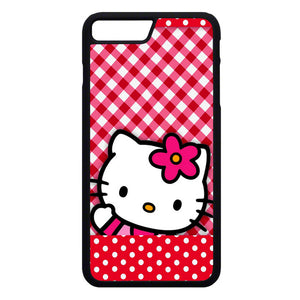 Hello Kitty Polkadot Red iPhone 7 Plus Case | Frostedcase