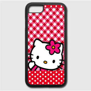 Hello Kitty Polkadot Red iPhone 7 Case | Frostedcase