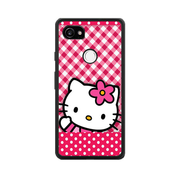 Hello Kitty Polkadot Google Pixel 2 XL Case | Frostedcase