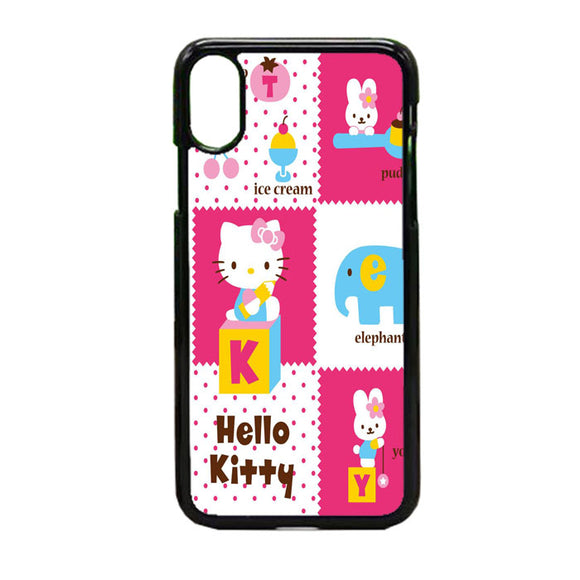 Hello Kity Pink iPhone X Case | Frostedcase