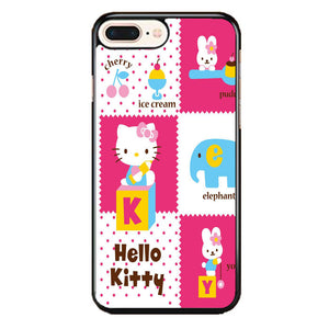 Hello Kity Pink iPhone 8 Plus Case | Frostedcase