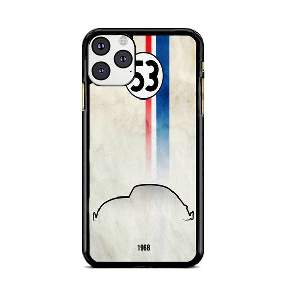 Herbie The Love Bug 1968 iPhone 11 Pro Max Case | Frostedcase