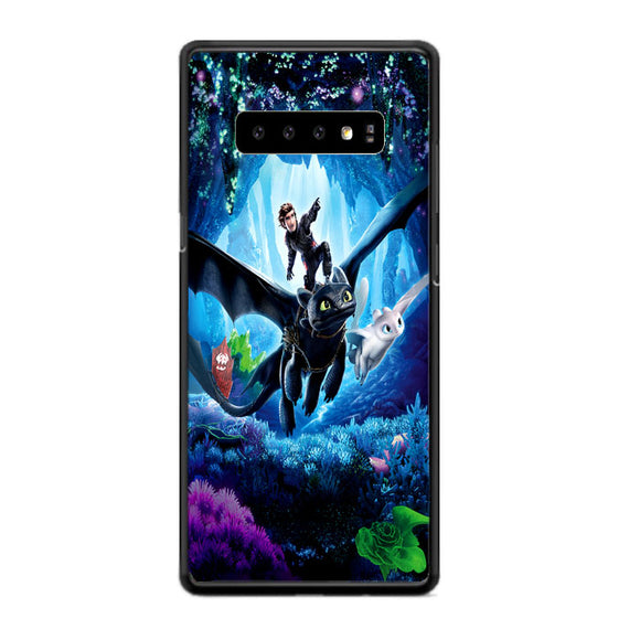 How To Train Your Dragon 3 Hidden World Samsung Galaxy S10 Case | Frostedcase