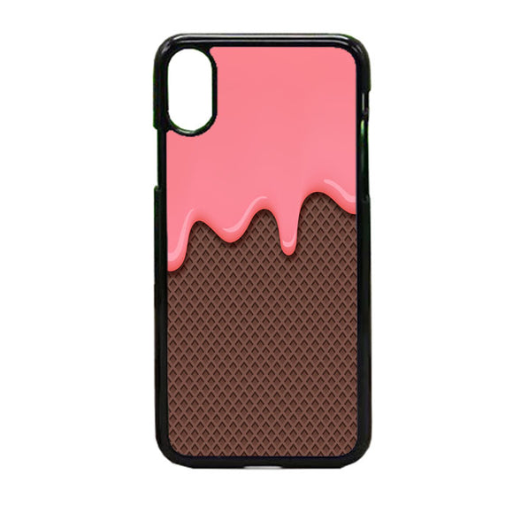 Ice Cream Melting iPhone X Case | Frostedcase