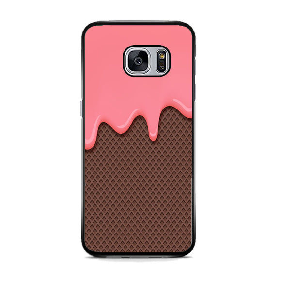 Ice Cream Melting Samsung Galaxy S7 Case | Frostedcase