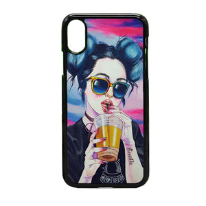 Ilustrasi iPhone X Case | Frostedcase
