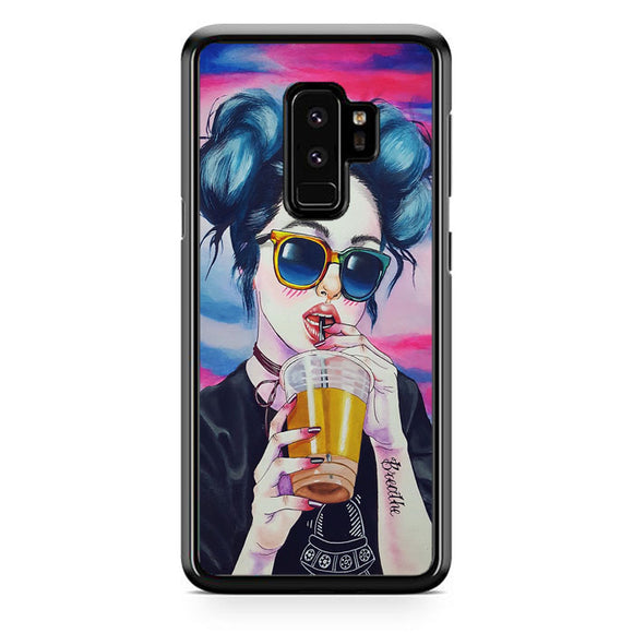 Ilustrasi Samsung Galaxy S9 Plus Case | Frostedcase