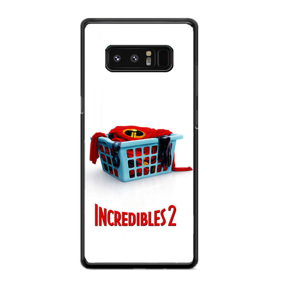 Incredibles 2 Movie Poster Samsung Galaxy Note 8 Case | Frostedcase