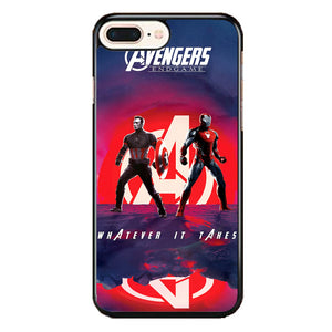 Iron Man X Captain America Avengers Endgame Poster iPhone 7 Plus Case | Frostedcase